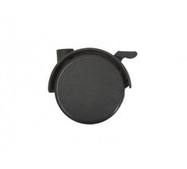 Kotačić fi 50 mm crni s kočnicom