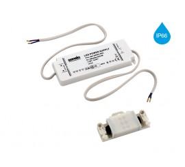 IP66 12W LED transformator - 350mA