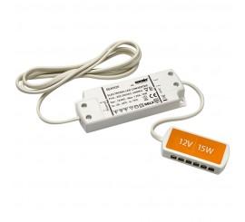 15W LED transformator sa 6 ulaza - 12V