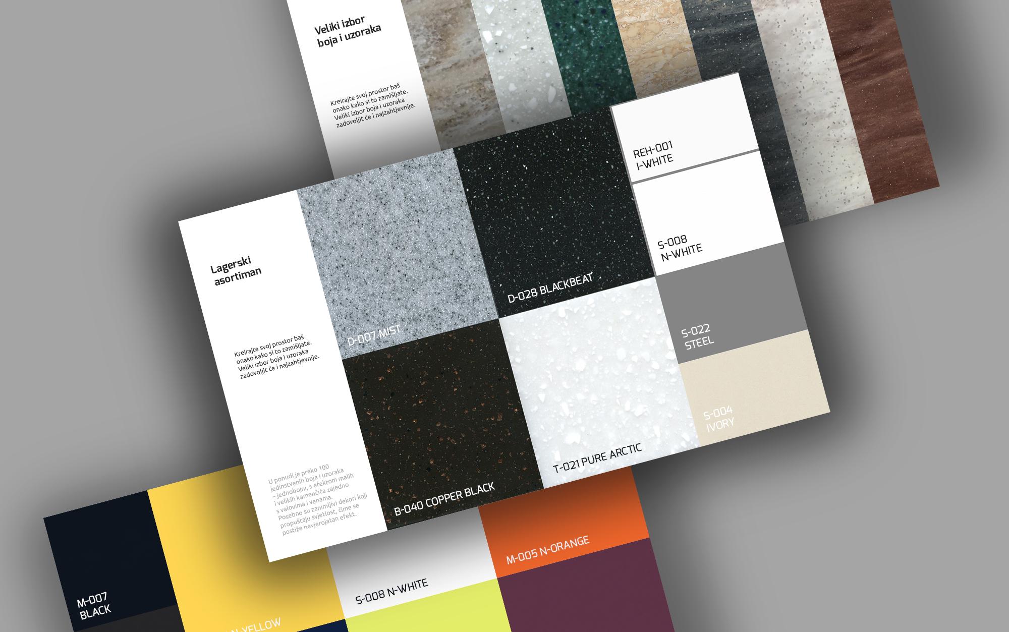 mineralne ploce hanex boje