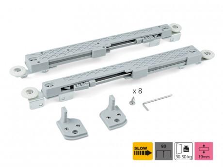 Amortizer za klizna vrata -  sistem 90