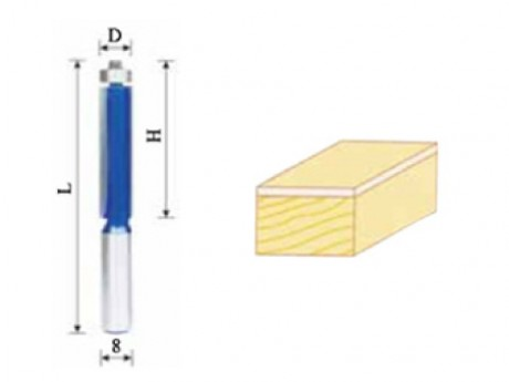 Glodalo HM 12,7 mm