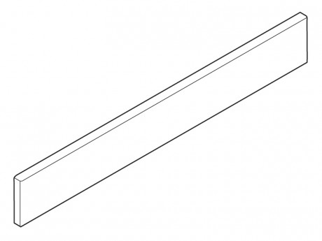 Metalni uložni element 500/D mm silk bijeli