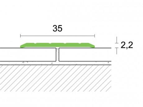 Samoljepljivi prijelazni profil 0,93
