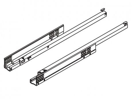 TANDEM vodilica djelomično izvlačenje + BLUMOTION 500 mm - 30 kg