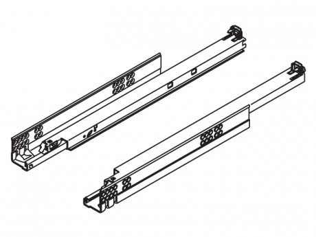 TANDEM vodilica potpuno izvlačenje za TIP-ON 300 mm - 30 kg