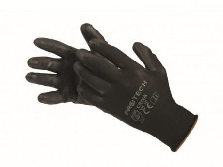Zaštitne crne rukavice 10