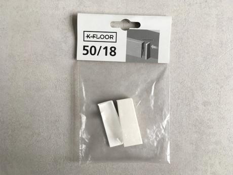 Završni završetak bijeli 50/18 za laminatni pod