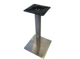 Noga za stol h72 cm Brušeni Nikl