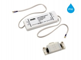 IP66 3W LED transformator - 350mA