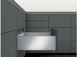LEGRABOX stranica 500 mm - Svileno bijela, mat - visina - F