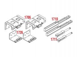Pribor za vanjska vrata  - debljina iverala 18 - 22 mm