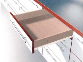 Vodilice Blum 400 mm - 25 kg