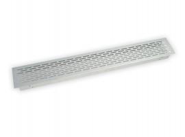 Ventilacijska rešetka 500 x 70 mm alu
