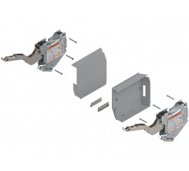 Spremnik energije Aventos HK-S TIP-ON sivi 960 - 2215