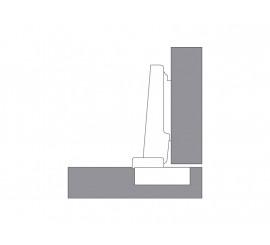 CLIP top 120°spojnica za aluminijski okvir - 0 - bez opruge