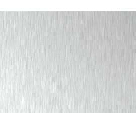 Brushed Aluminium MDF jednostrani - 18,7 mm