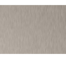 Brushed Inox MDF jednostrani - 18,7 mm