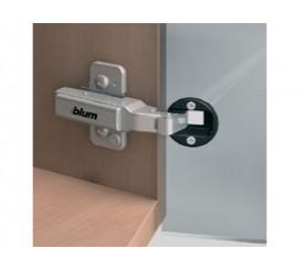 CLIP top +20°kutna spojnica za staklena vrata