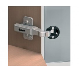 CLIP top +45° kutna spojnica za staklena vrata