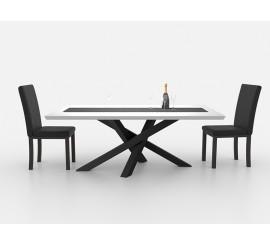Postolje za stol New York crna ral 9005