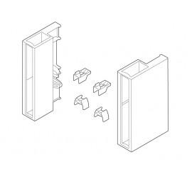 Komplet pridržnih dijelova za D nosač silk bijeli