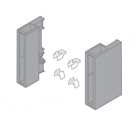 Komplet pridržnih dijelova za C nosač sivi