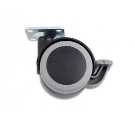 Kotačić meki fi 50 mm s kočnicom