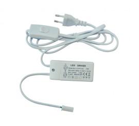 15W LED transformator s kablom i prekidačem