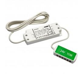 15W LED transformator sa 6 ulaza - 24V