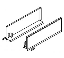 LEGRABOX stranica 450 mm - Svileno bijela, mat - visina - C