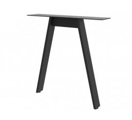 Noga za stol Dama crna ral 9005