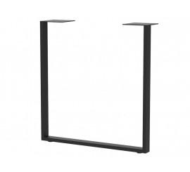 Noga za stol Edo crna ral 9005