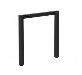 Noga za stol Quadro 600 crna ral 9005