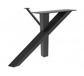 Noga za stol Sackman crna ral 9005