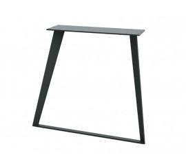 Noga za stol Radar crna ral 9005