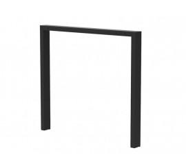 Noga za stol TBM 600 crna ral 9005