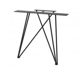 Noga za stol Web crna ral 9005