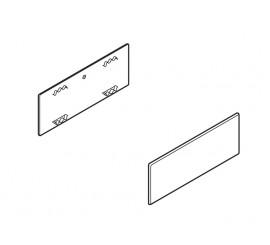 Pokrov plastični za TANDEMBOX antaro silk bijeli