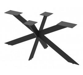 Postolje za stol Snowflakes crna ral 9005