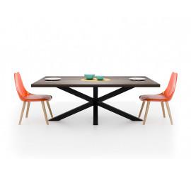 Postolje za stol Star 80 crna ral 9005