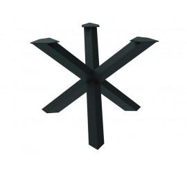 Postolje za stol Queen crna ral 9005