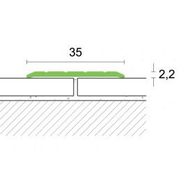 Samoljepljivi prijelazni profil 2,7