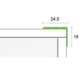 Samoljepljivi profil za stepenice 2,7