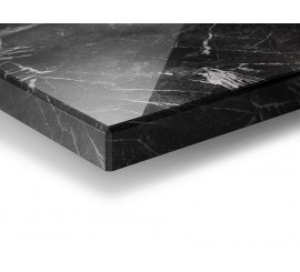 Akril Crystal MDF - Marmo Nero