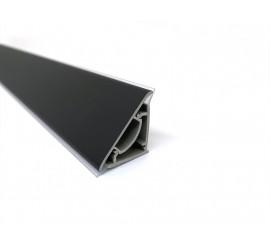 Letva trokut pvc Crna mat SCI