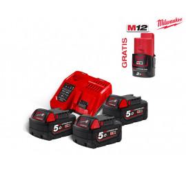 Set akumulatora i punjača NRG M18NRG Milwaukee