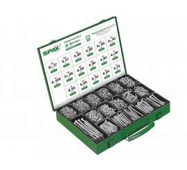 Metalni kofer s vijcima - 3226 kom