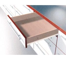 Vodilice Blum 550 mm - 25 kg