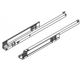 TANDEM vodilica djelomično izvlačenje + BLUMOTION 350 mm - 30 kg